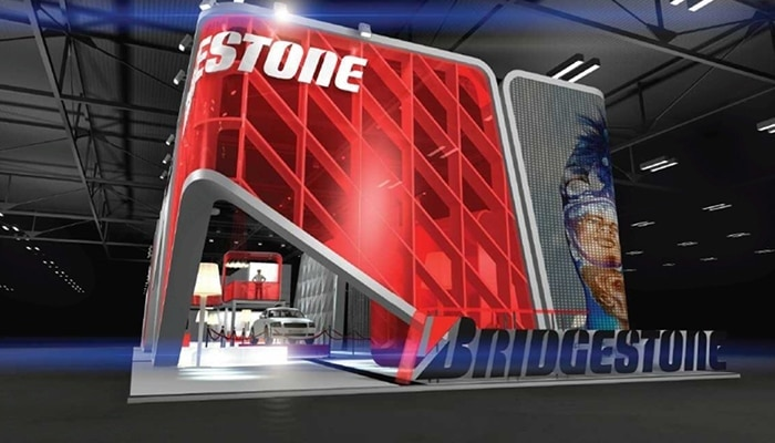 Stand Bridgestone - Salón del Automóvil Barcelona