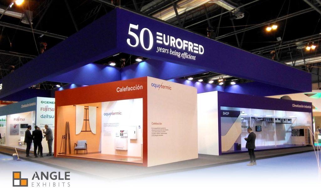 Stand Eurofred - Climatización y Refrigeración 2017