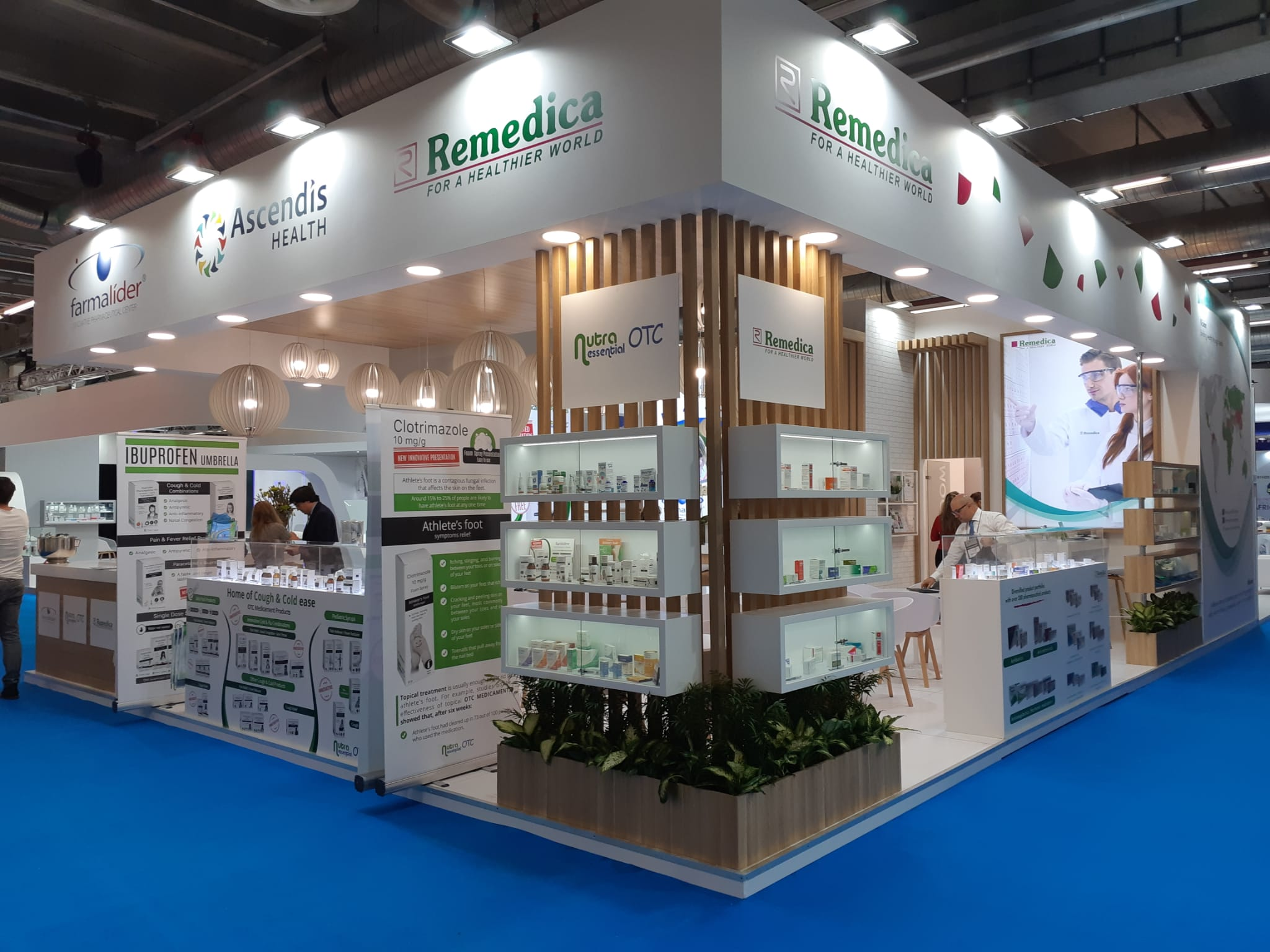 personalized stands angle exhibits