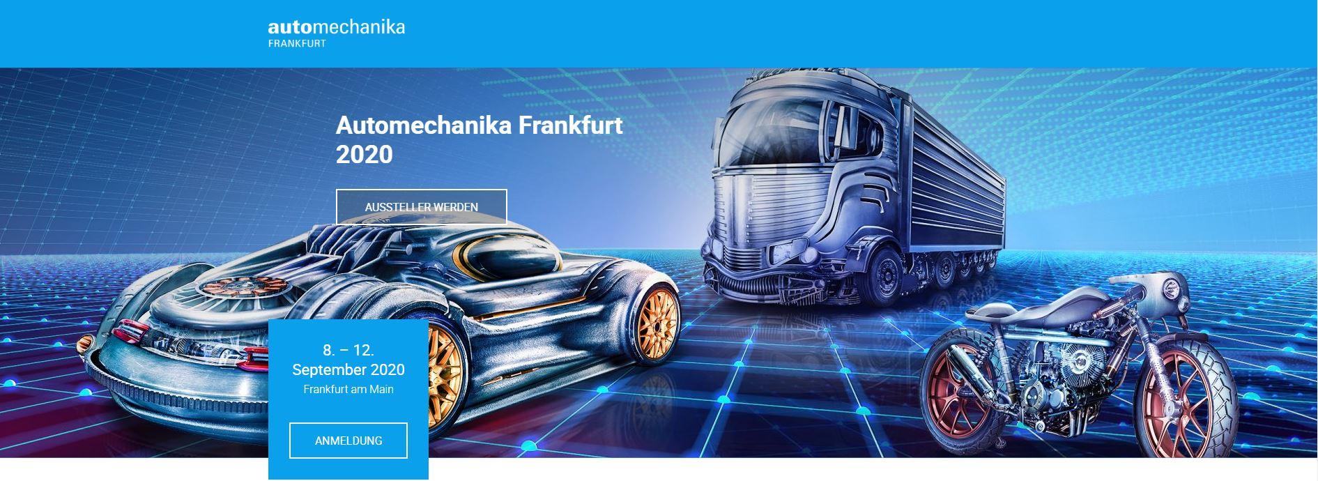 Automechanika Frankfurt 2020