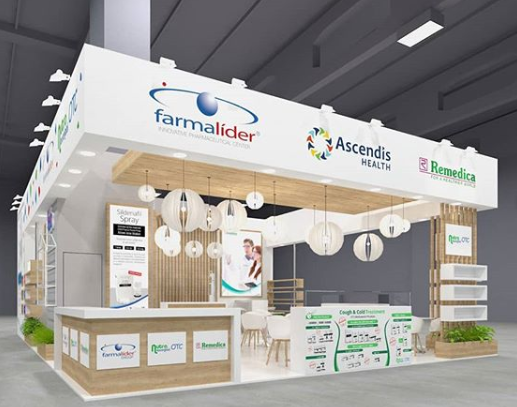 exhibition stand angle exhibits